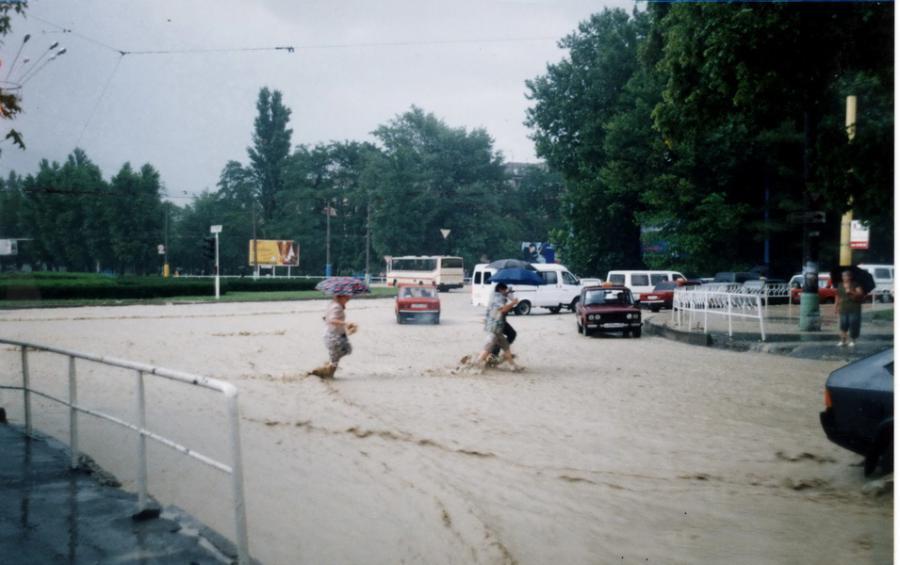 Новороссийск наводнение август 2002