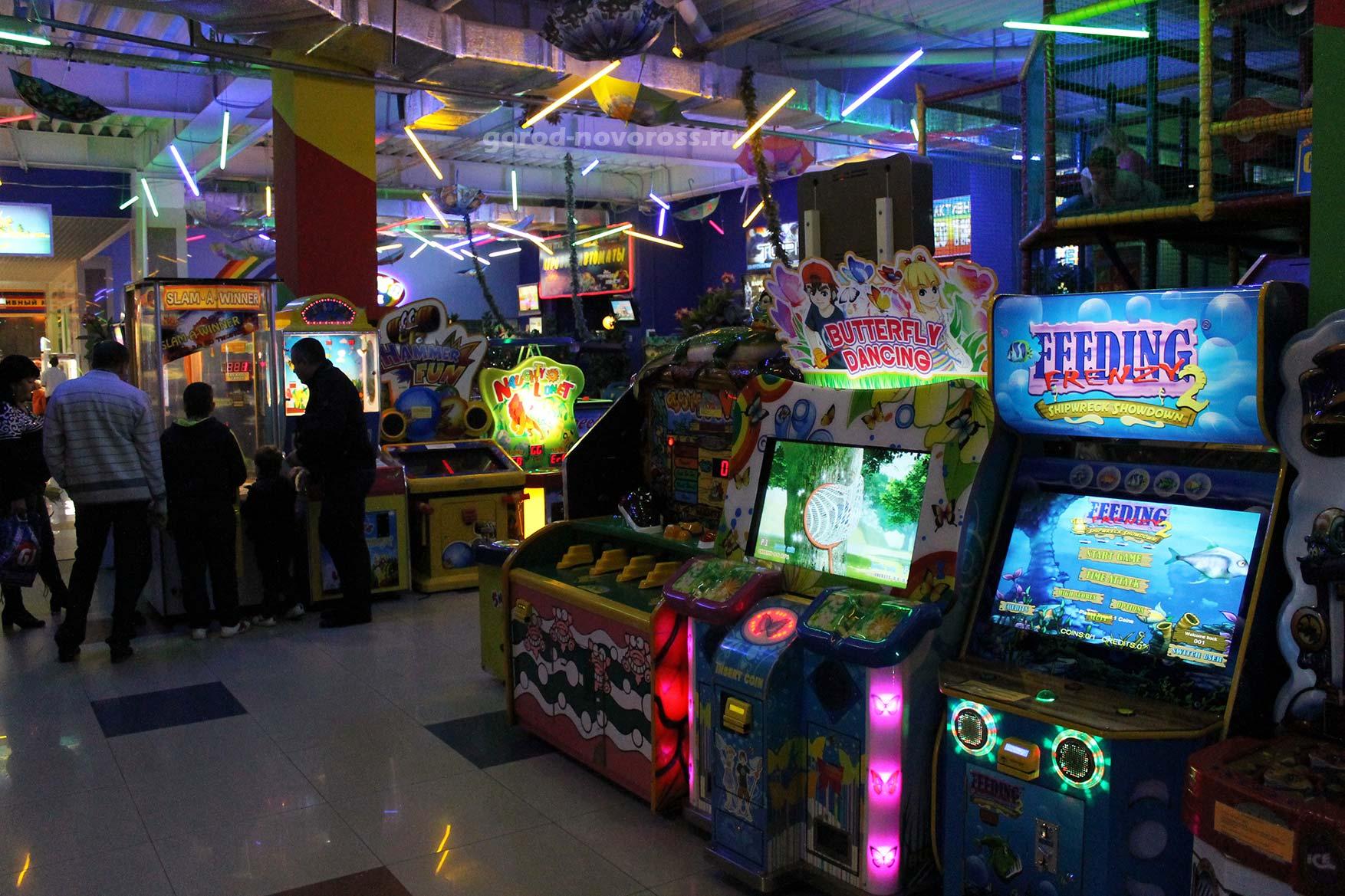 Игровые автоматы в торговом центре игровые автоматы джек-пот играть бесплатно