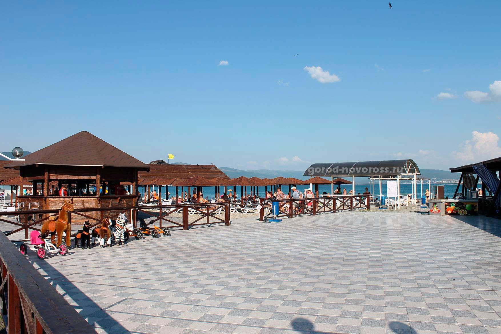 фото новороссийск пляж