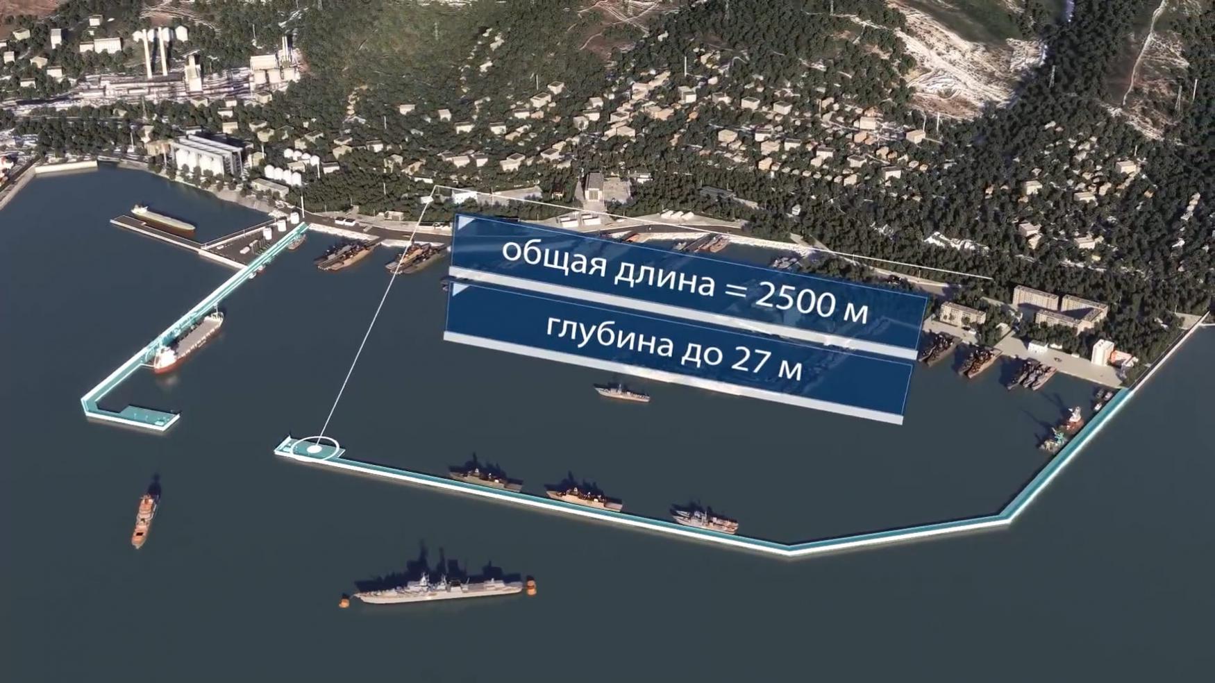 Военно-морская база в Новороссийске