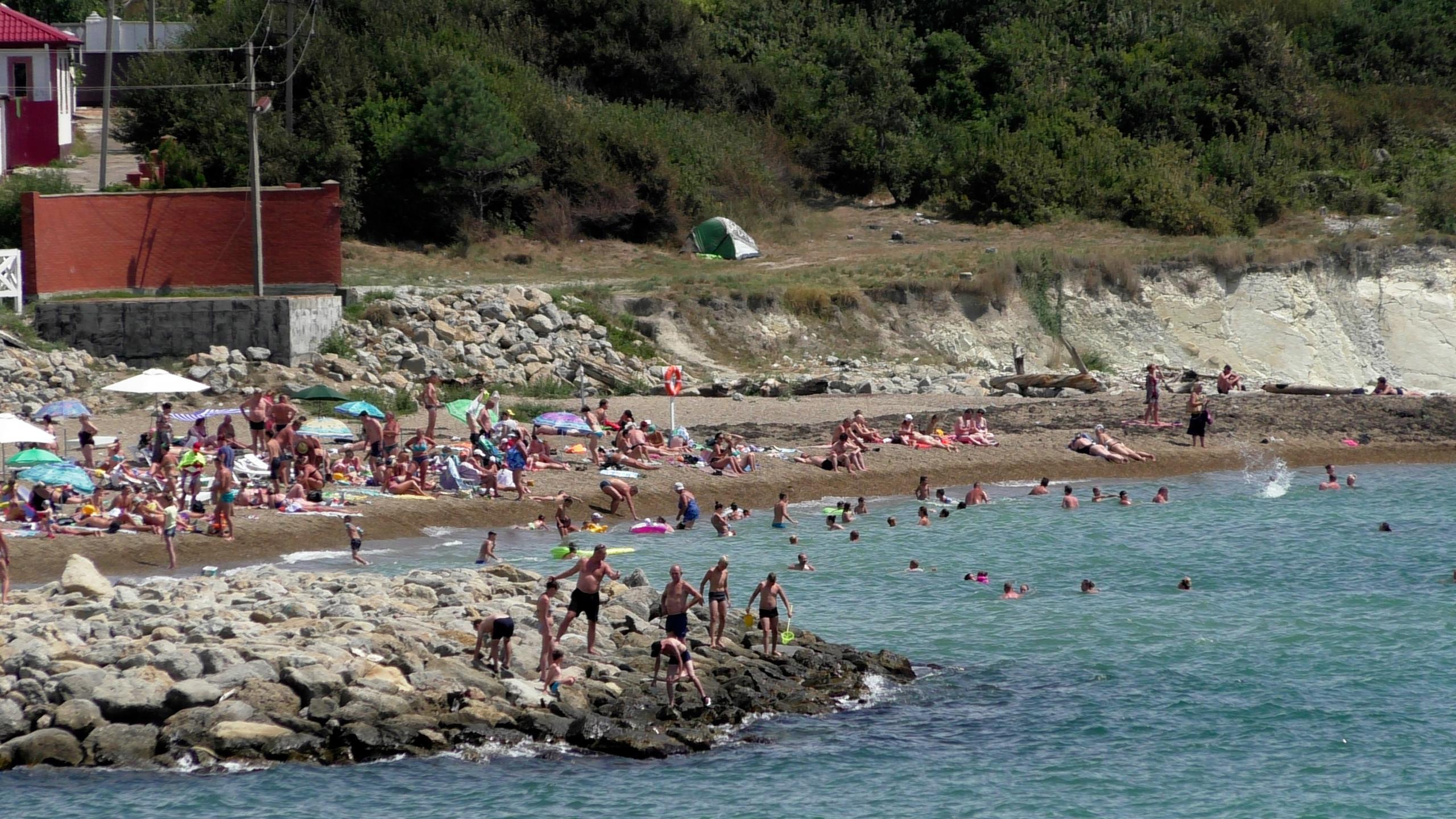 Фото нового пляжа мысхако
