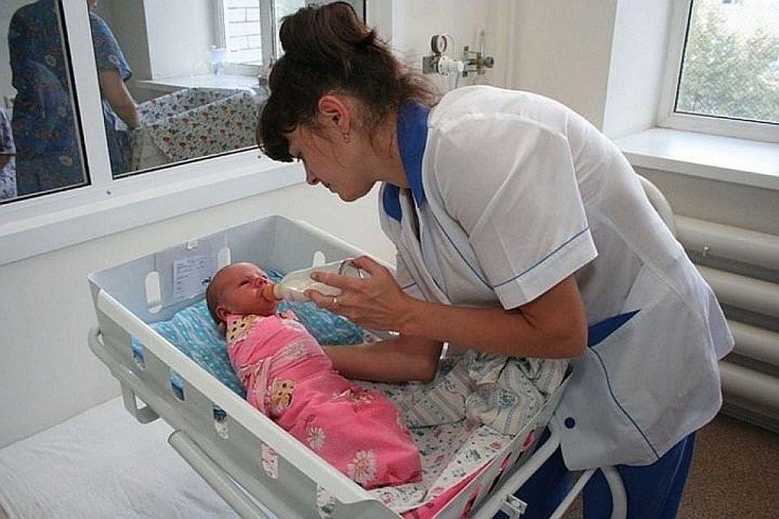 Роддом картинки отделение с новорожденными
